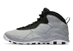 7c87e8783604a Nike Air Jordan 10 Retro Light Smoke Cement Grey Black Red Size Condition  is New with box.