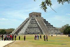 Chichen Itza große Pyramide, Mexiko
