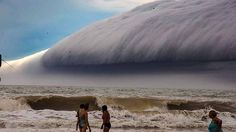 Shelf cloud seen last month near Santa-Teresita, Buenos Aires