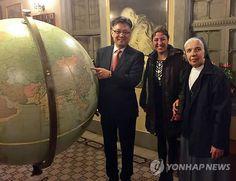 Hanji used for restoration of Pope John XXIII's globe