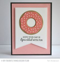 Doughnuts donuts card