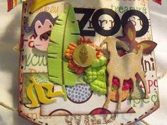 TPHH Terri Zoo Chipboard Mini Scrapbook Album not Paper Bag | eBay