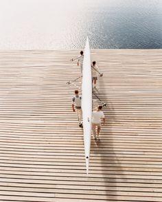 early mornings on the water (via bonnie tsang on tumblr)