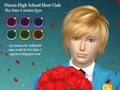 Ouran High School Host Club Eyes at NG Sims3 via Sims 4 Updates