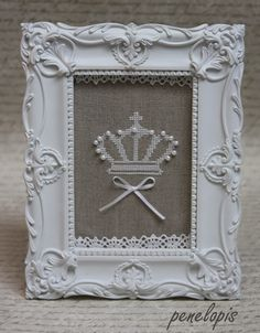 Penelopis' cross stitch freebies: Mala crown / A little crown ...