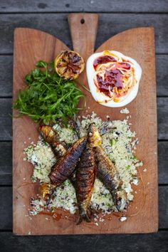 harissa sardines with couscous salad | Jamie Oliver | Food | Jamie Oliver (UK)