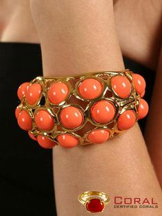 Adorn your #wrists with this enchanting #coral #gold #bracelet. Shop today http://coral.org.in/ #jewelry #gemstone #lifestyle #luxury #stylish #fashionista #fashionblogger