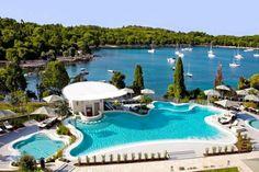 Hotel Monte Mulini, Rovinj, Croatia.