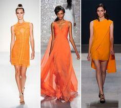 Tre look Celosia Orange