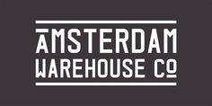 Visual identity, branding and logo design for Amsterdam Warehouse Company.