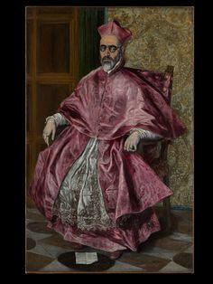 El Greco, Cardinal Fernando Niño de Guevara, ca. 1600   The Met