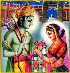 """☀ SITA RAM ☀  """"With sword in hand, intelligent men cut through the binding knots of reactionary work karma by remembering the Personality of Godhead. Therefore, who will not pay attention to His message?""""~Srimad Bhagavatam 1.2.15"""