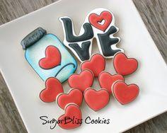 SugarBliss Cookies: SugarBliss Love