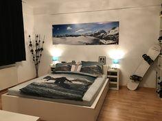 Snowboard Schlafzimmer Deko