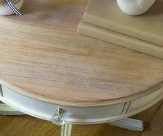 Whitewash Wood Using Lime Wax