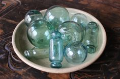 Set of 9 Vintage Hand-blown Japanese Glass Fishing by Shibuikotto - Etsy