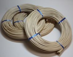 PL Butte Round Ribbon Reed Coils. Used for basket weaving, weaving trays, etc. http://www.hofcraft.com/blue-ribbon-round-reed-rolls-weaving-reed.html
