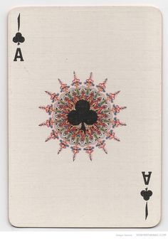 Specially manufactured Playing Cards for the Iranian monopoly by Thos. De La Rue & CO Ltd. London. Designed by V. Romanowski de Boncza. Circa 1930s.