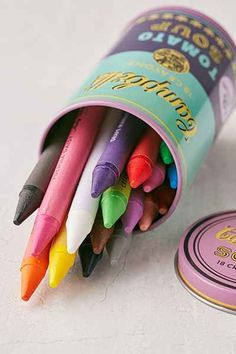 Soup Can Crayons Set - Urban Outfitters