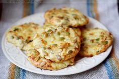 Tökmagos túrós puffancs Diet Recipes, Vegetarian Recipes, Snack Recipes, Cooking Recipes, Healthy Recipes, Fast Dinners, Quick Meals, Good Food, Yummy Food