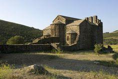 Sant Quirze de Colera Monastery, Rabós, l'Alt Empordà. Catalonia