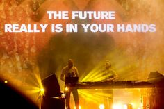 For all those young minds out there.. the future really is in your hands! ~Above & Beyond <3 #trance #quotes #inspiration