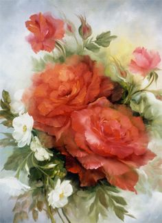 Gary Jenkins, best painter of flowers that I know.