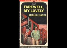 Farewell, My Lovely (1940) by Raymond Chandler - His 2nd novel starts with private detective Philip Marlowe literarily thrown into a bar just because he was passing by. The next moment, he's the witness of a murder. He begins to follow up on the case because he has nothing better to do, and soon he's tied up in another murder, a blackmail case, a drug ring, and offshore gambling. The whole thing is very messy, and a lot of it turns out to be only tangentially related, which makes it feel…