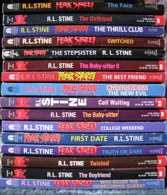 Lot Of 16 R.L. Stine Fear Street And Thriller Books Paperback