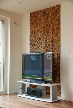 Texas short cube TV wall