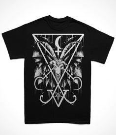 Luciferian Witchcraft T-Shirt 100% cotton preshrunk jersey Classic Fit Seamless double needle collar Taped neck and shoulders for durability Double needle sleeve and bottom hem