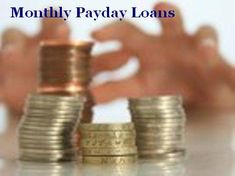 Monthly installment payday loans arrange you monthly loans the much required cas