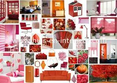 Shades of pink, red and orange - www.huis-en-interieur.com