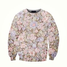 floral girls sweatshirt