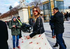 From Comme des Garçons to Valentino, the best outfits Phil Oh saw at Paris Fashion Week Fall 2016.