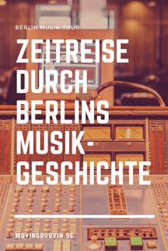 Die Musikgeschichte Berlins live erleben: Erkundungstour durchs Hansa Studio & Bustour durch Berlin, mit dabei: Bowie, Depeche Mode, U2, Iggy Pop...