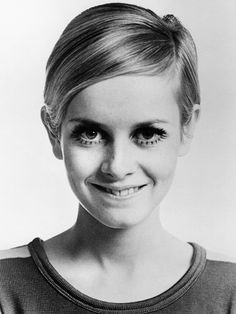 Twiggy's mod cut will always be a fave!