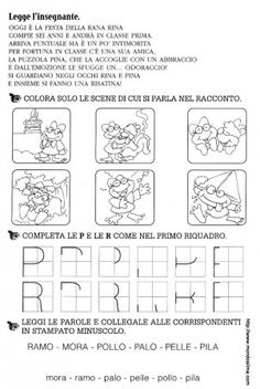VERIFICA CONSONANTI P R