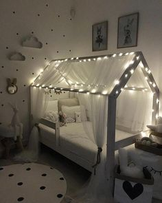 Baby Girl Nursery Room İdeas 723742602604902693 – Dětská postel ve tvaru dom… – Schlafzimmer Baby Bedroom, Baby Room Decor, Nursery Room, Bedroom Decor, Boy Room, Girl Toddler Bedroom, Ikea Bedroom, Bedroom Furniture, Modern Bedroom