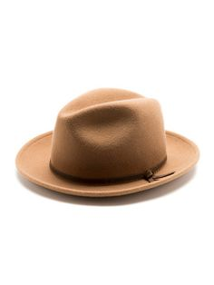 Yellow 108 Luke Vintage Fedora Tan