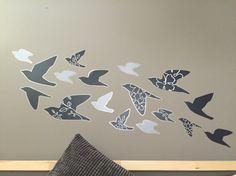 İkea slatthult birds wall sticker