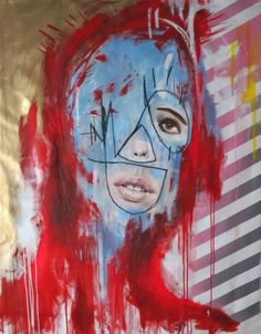 "FOOL""S GOLD 140cm x 110cm oil on canvas"