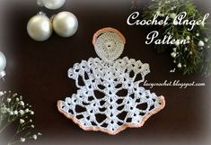 Lacy Crochet: Crochet Angel, My Free Pattern