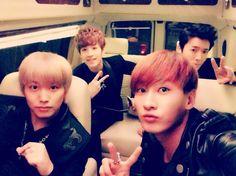 Sungmin, henry, donghae y eunhyuk