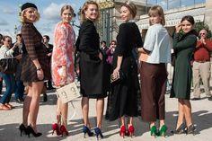 Fotos street style Paris Fashion Week | Galería de fotos 1 de 91 | Vogue