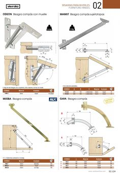 Furniture Hinges, Folding Furniture, Space Saving Furniture, Furniture Making, Diy Furniture, Diy Sewing Table, Diy Table, Wood Table, Woodworking Saws