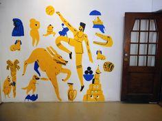 marikajo:Wallpainting by Mari Kanstad Johnsen