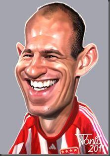 Arjen Robben - www.ideo-gene.net - Générateur d'Optimistes Pragmatiques