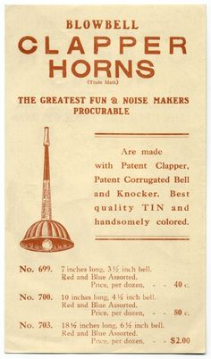 greatest fun & noise makers procurable
