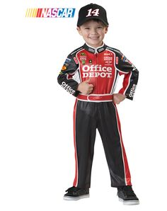 Channel your young race fan's inner Tony Stewart with this Halloween costume!